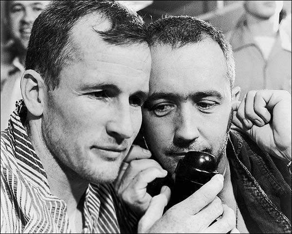 Gemini 4 Ed White & James McDivitt Recovery Photo Print for Sale