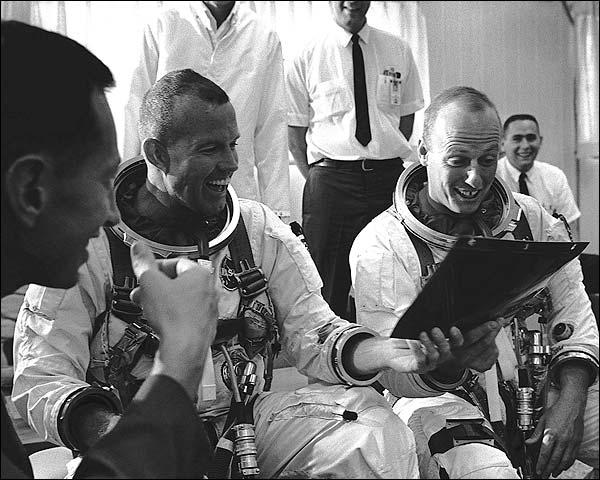 Conrad Cooper Prepare for Gemini 5 Photo Print for Sale