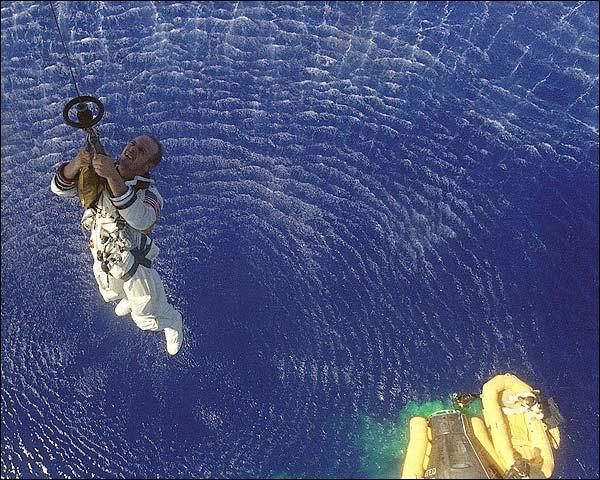 Pete Conrad Gemini 5 Recovery Photo Print for Sale