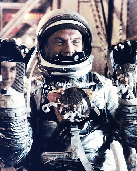 John Glenn Preparing for Mercury 6 Launch Photo Print for Sale