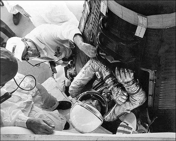 Alan Shepard Mercury 3 NASA Photo Print for Sale