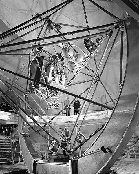 Mercury Gimbal Rig Motion Simulator Photo Print for Sale
