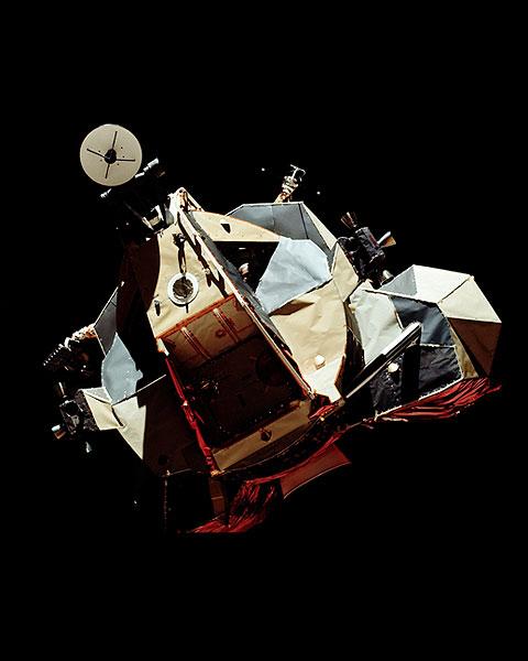 Apollo 17 Lunar Module in Space Photo Print for Sale