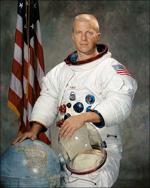 Astronaut Paul J. Weitz Portrait Photo Print for Sale