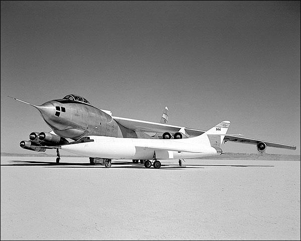 Naca Fleet D-558 & B-47 Stratojet Photo Print for Sale
