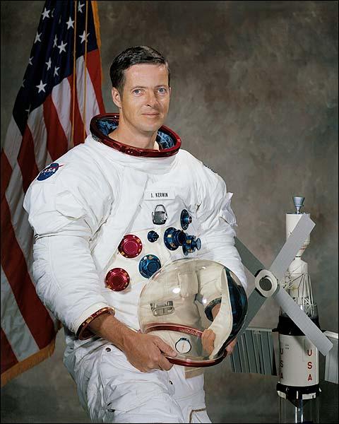 Astronaut Joseph P. Kerwin Portrait Photo Print for Sale