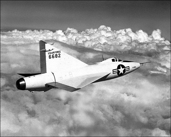 Convair XF-92 Dart in Flight Photo Print for Sale