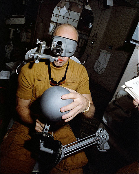 Astronaut Pete Conrad NASA Experiment Photo Print for Sale