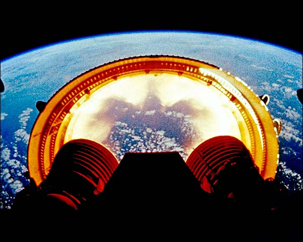 NASA Apollo 6 Saturn V Stage Separation Photo Print for Sale