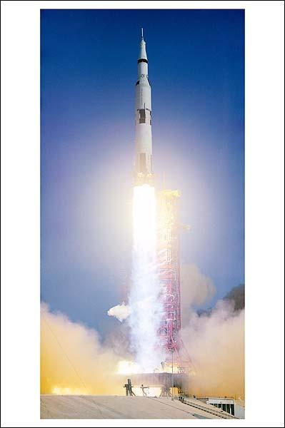 NASA Apollo 6 Liftoff 1968 Photo Print for Sale