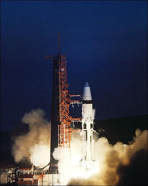 NASA Apollo 5 Launch 1968 Photo Print for Sale