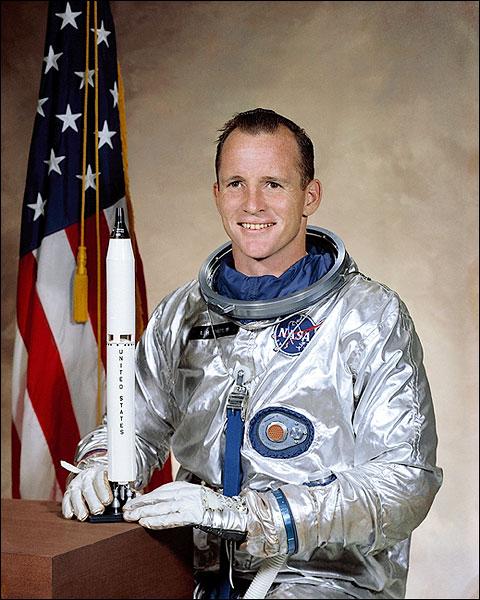 NASA Portrait of Astronaut Edward White Photo Print for Sale
