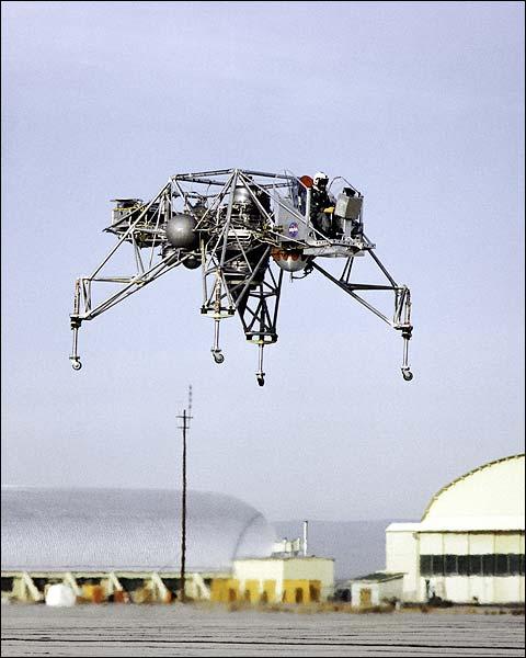NASA Lunar Landing Research Vehicle (LLRV) 1964 Photo Print for Sale