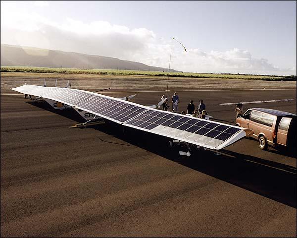 NASA Helios Solar Airplane Photo Print for Sale