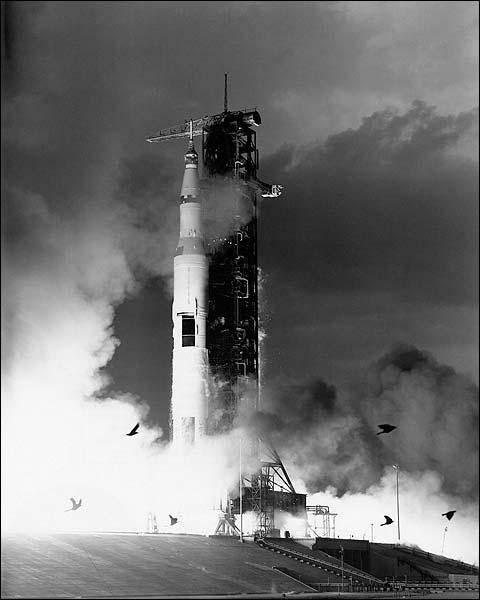 NASA Apollo 11 Liftoff 1969 Photo Print for Sale