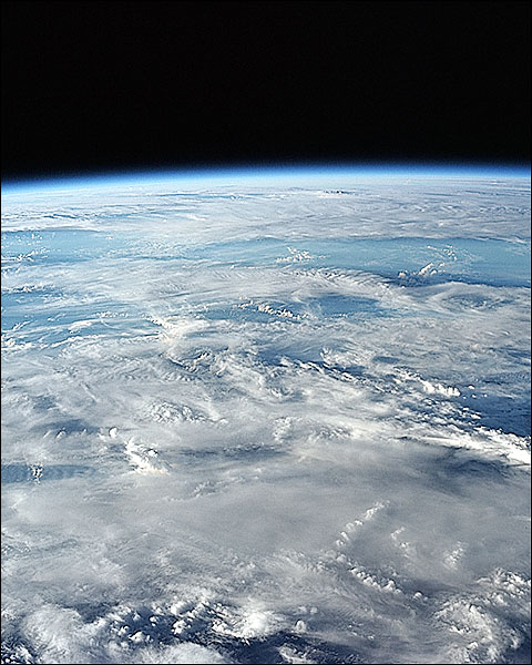 Earth From Orbit NASA Photo Print for Sale
