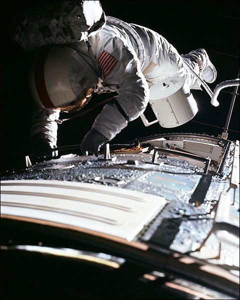 Apollo 17 Ronald Evans Trans-Earth EVA Photo Print for Sale