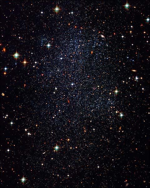 Sagittarius Dwarf Irregular Galaxy Hubble Space Telescope Photo Print for Sale