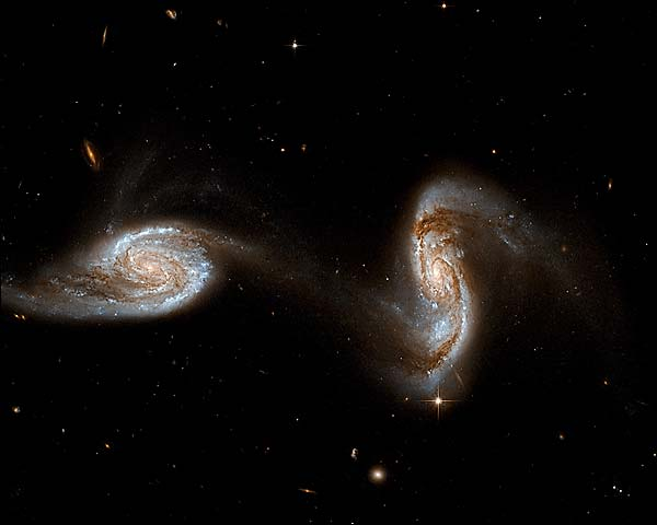 Hubble Space Telescope Interacting Galaxies Photo Print ...