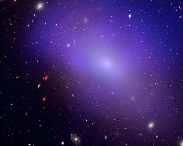 Elliptical Galaxy Hubble Space Telescope Photo Print for Sale