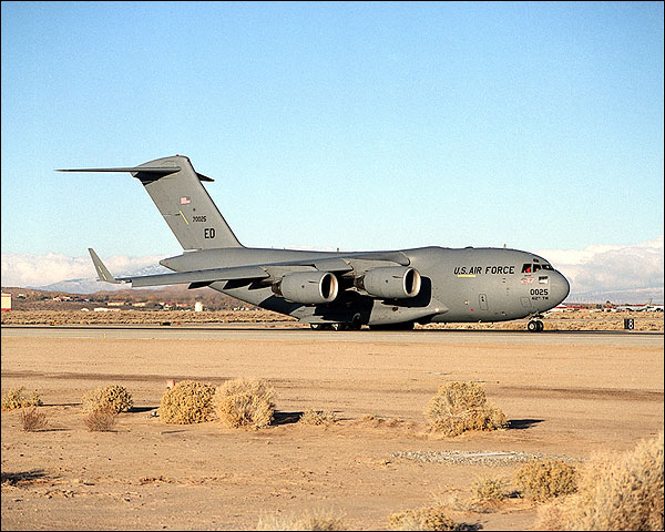 C-17 Globemaster Runway Taxi Photo Print for Sale