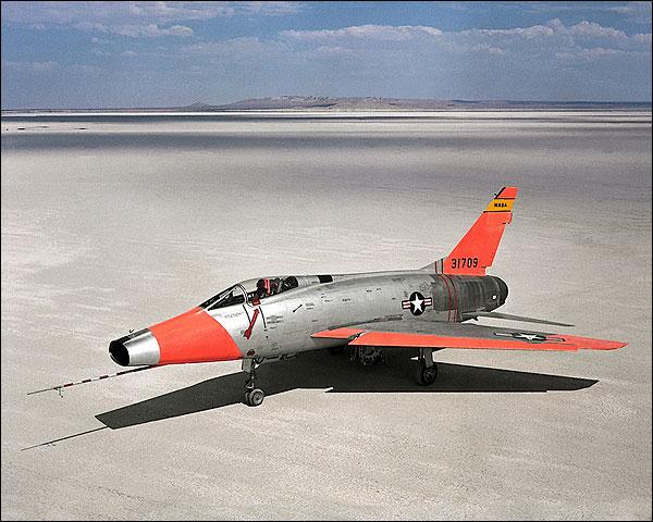 JF-100C Super Sabre F-100 Photo Print for Sale