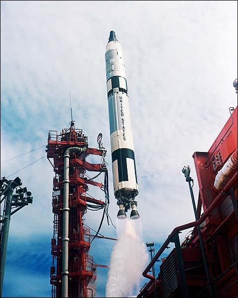 Gemini Titan 11 Rocket Launch Photo Print for Sale