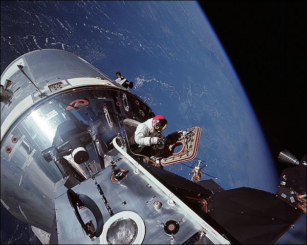 Apollo 9 David Scott in Space Photo Print for Sale