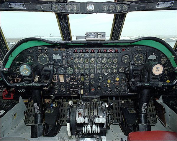B-52 Cockpit Instrument Panel Photo Print for Sale