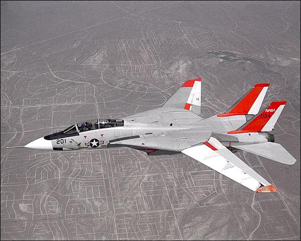 F-14 Tomcat Aircraft in Flight NASA Photo Print for Sale