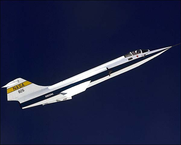 F-104 Starfighter in Flight NASA Photo Print for Sale
