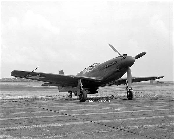 North American XP-51 Mustang P-51 Photo Print for Sale