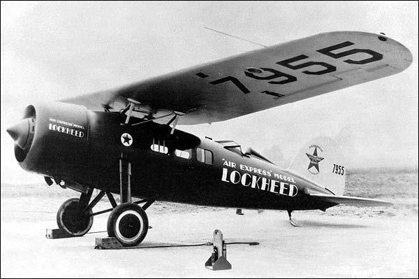 Lockheed Vega Air Express Airplane Photo Print for Sale