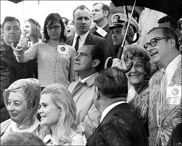 Richard Nixon Apollo 12 Launch Photo Print for Sale