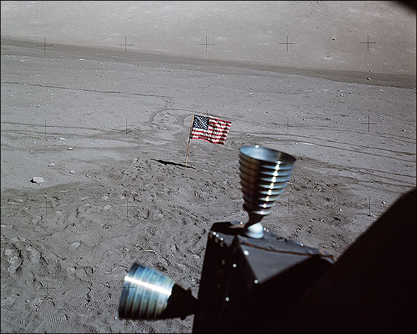 Apollo 17 View from Lunar Module Window Photo Print for Sale