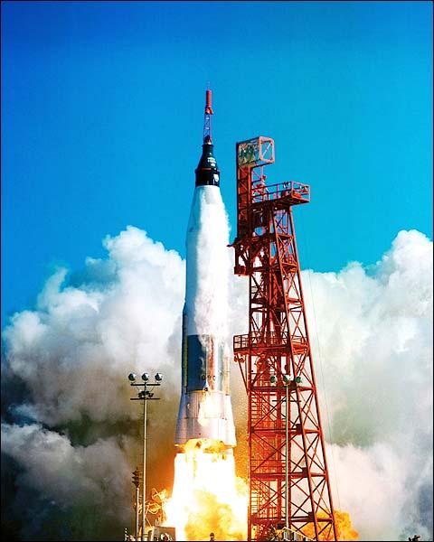 Mercury Friendship 7 Launch NASA Photo Print for Sale