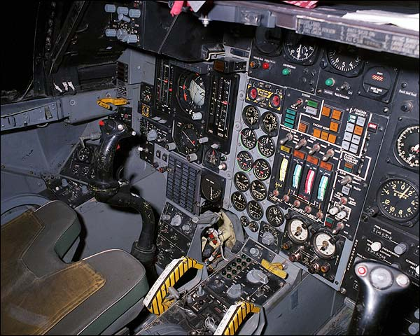 111 Aardvark Cockpit Photo Print for Sale
