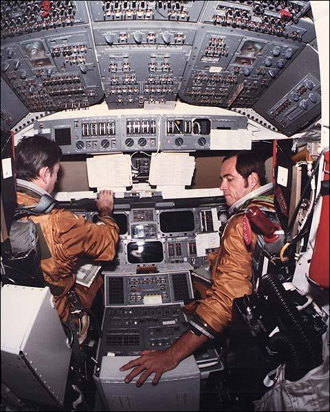 space shuttle cockpit poster - photo #10