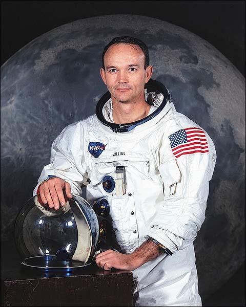 Apollo 11 Michael Collins Portrait Photo Print for Sale