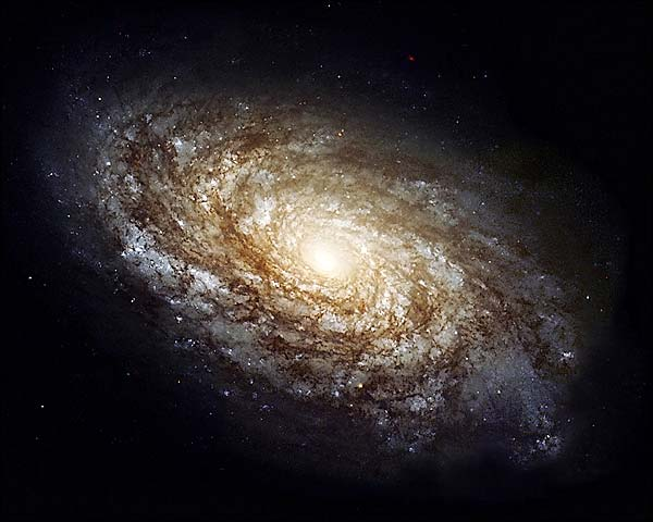 Hubble Space Telescope Dusty Spiral Galaxy Photo Print for Sale