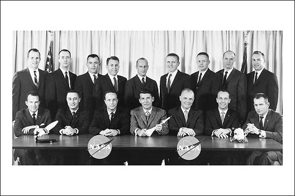 Mercury and Gemini Missions, First American Astronauts Photo Print for Sale