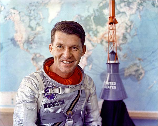 Mercury Astronaut Wally Schirra Photo Print for Sale