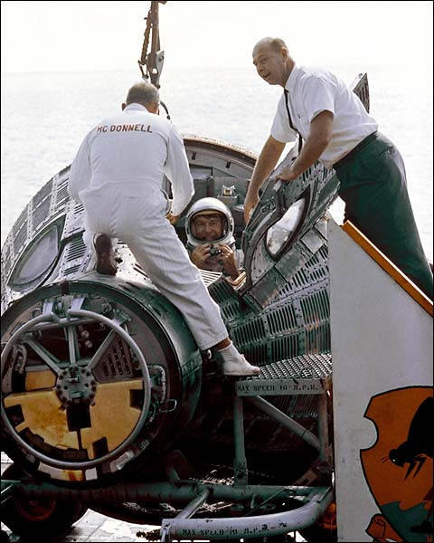 Gemini 6 Astronaut Walter Schirra NASA Photo Print for Sale