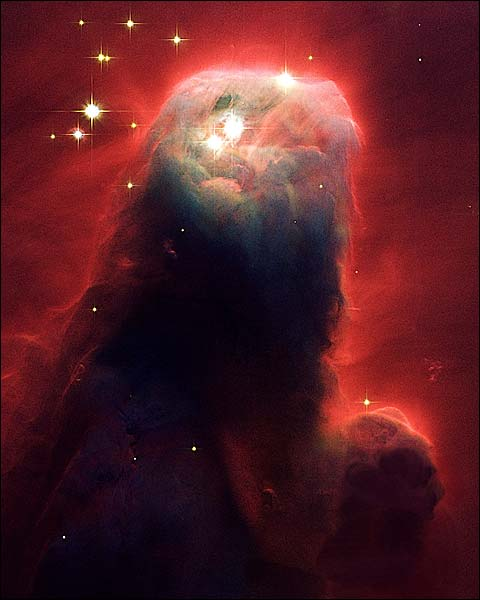 Hubble Space Telescope Cone Nebula Photo Print for Sale