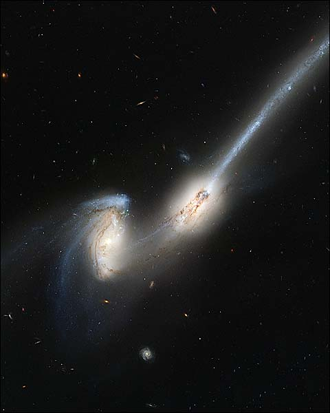 Hubble Astronomy Telescope Mice Galaxies Photo Print for Sale