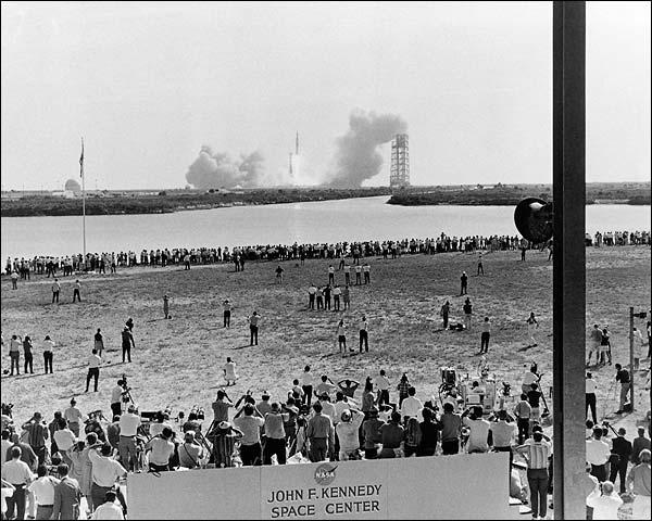 Apollo 11 Saturn V Rocket Launch NASA Photo Print for Sale