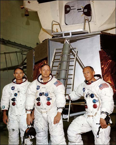 Apollo 11 Crew Training Portrait Photo Print for Sale