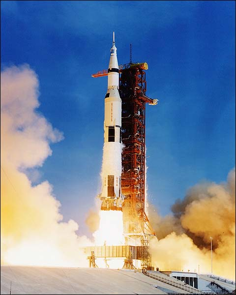 Apollo 11 Saturn V Liftoff Photo Print for Sale