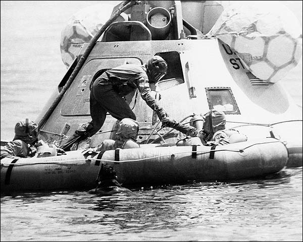 NASA Command Module Recovery Exercise Apollo 11  Photo Print for Sale
