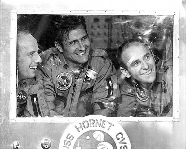 Apollo 12 Astronauts Conrad, Gordon & Bean Photo Print for Sale